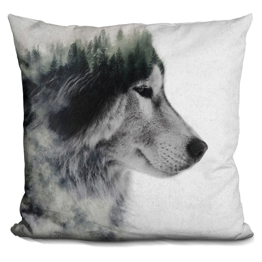 Wolf Stare Pillow