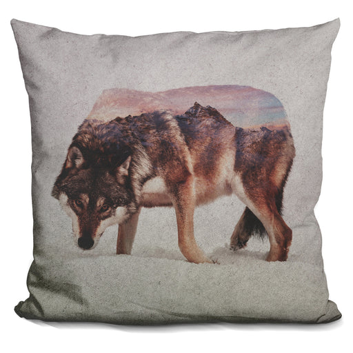 Wolf Andreas Lie Pillow