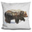 Arctic Grizzly Bear Pillow