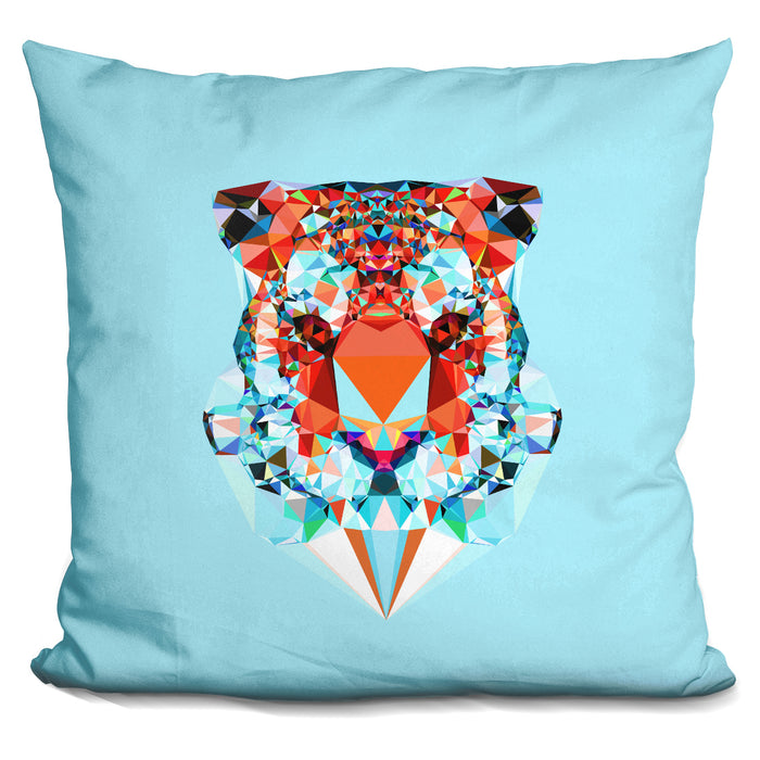 Geometric Tiger Pillow