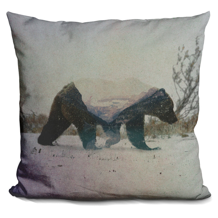 Grizzly Bear Pillow