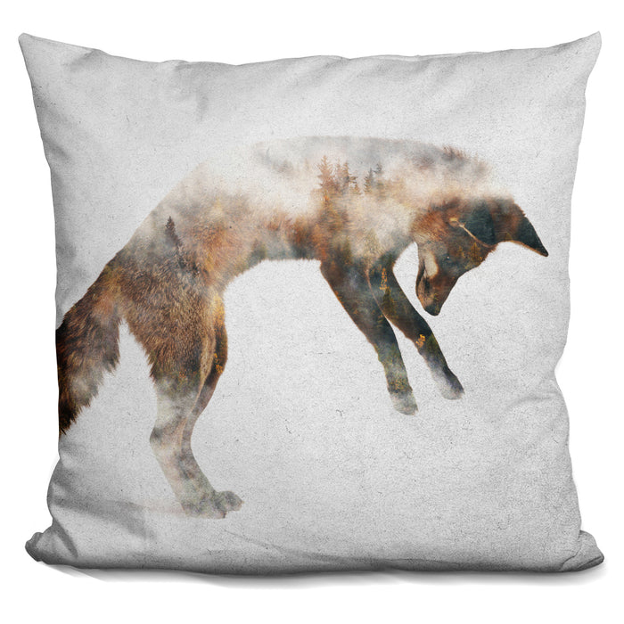 Jumping Fox Pillow