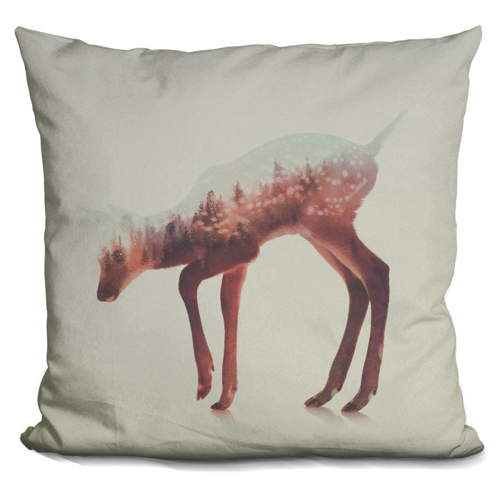 The Deer Norwegian Woods Pillow