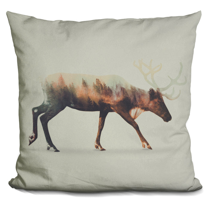 The Reindeer Norwegian Woods Pillow