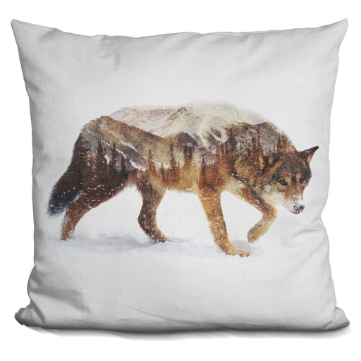 Arctic Wolf Pillow