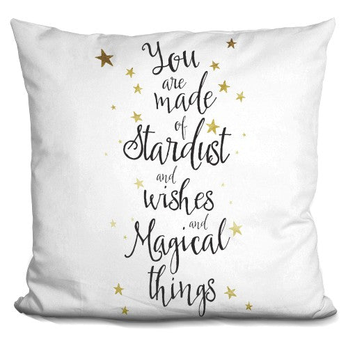 You Are Made Of Stardust Pillow