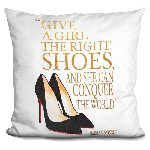 Right Shoes Cl Shoes Pillow