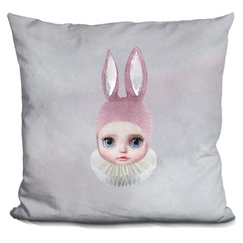 Mis Lily Rabbit Face Pillow