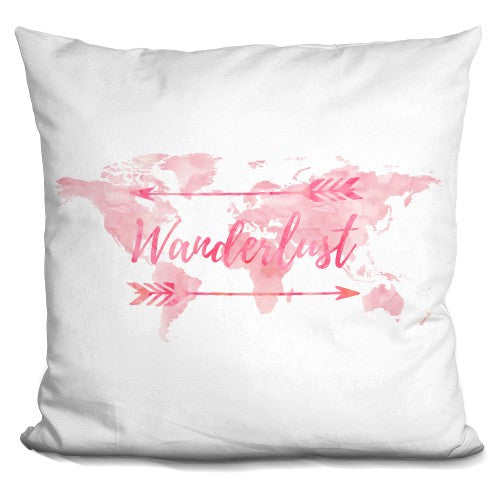 Wader Lust World Pink Pillow
