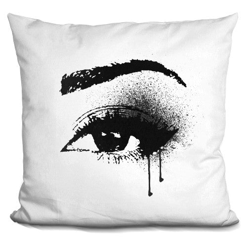 Black Drip Eye Pillow