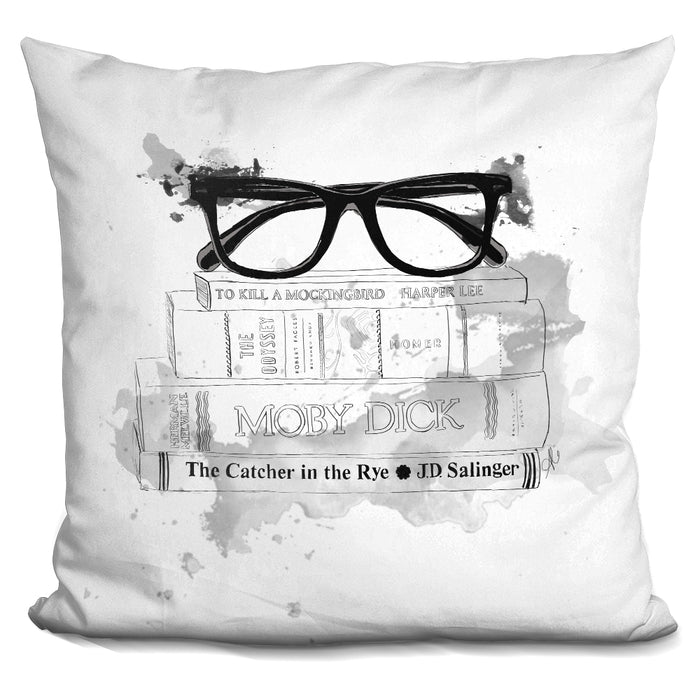 Adams Library Pillow