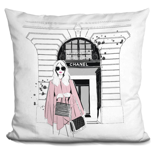 Fashion Week Pillow