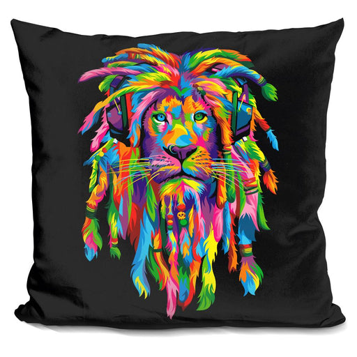 Lion Rasta Pillow