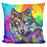 Pop_Art_Wolf_2 Pillow