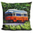 Orange Trolley Pillow