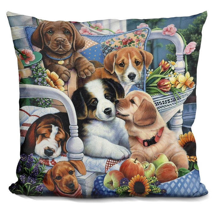 Country Pups Pillow