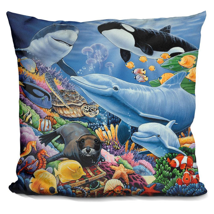 Sealife Pillow
