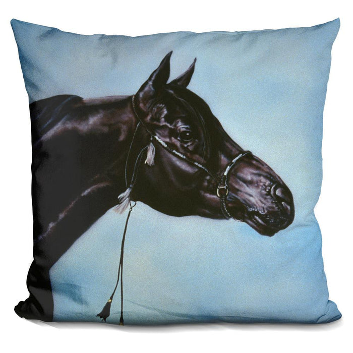 Black Arabian Pillow