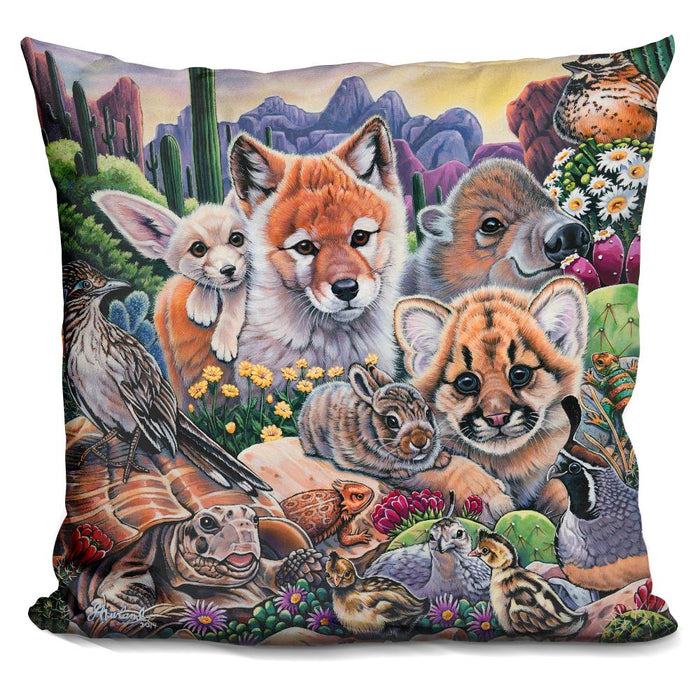 Desert Buddies Pillow