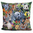 Jungle Babies Pillow