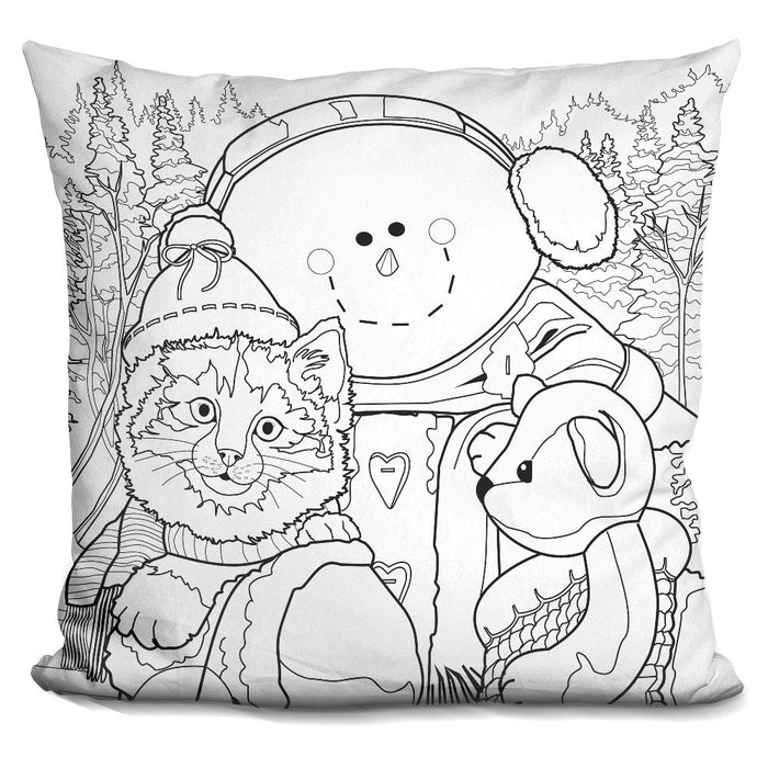 Christmas Cuties 6 Pillow