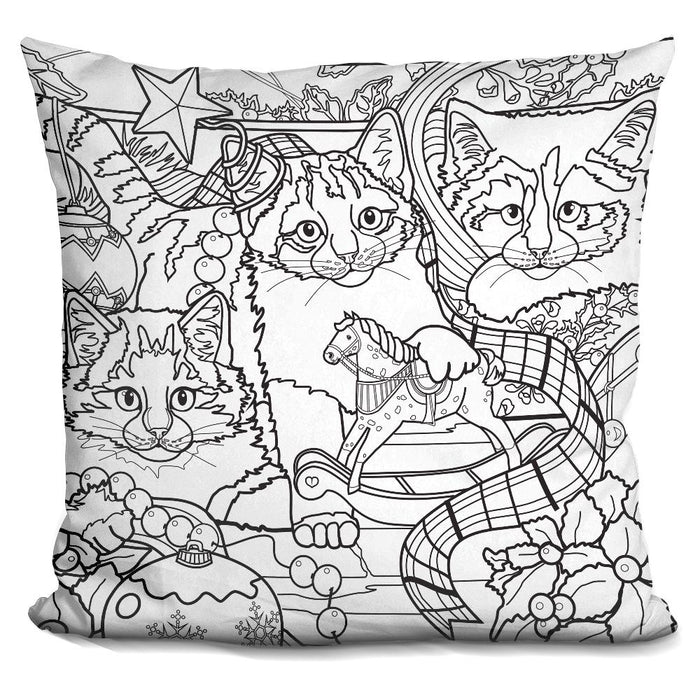 Christmas Cuties 7 Pillow