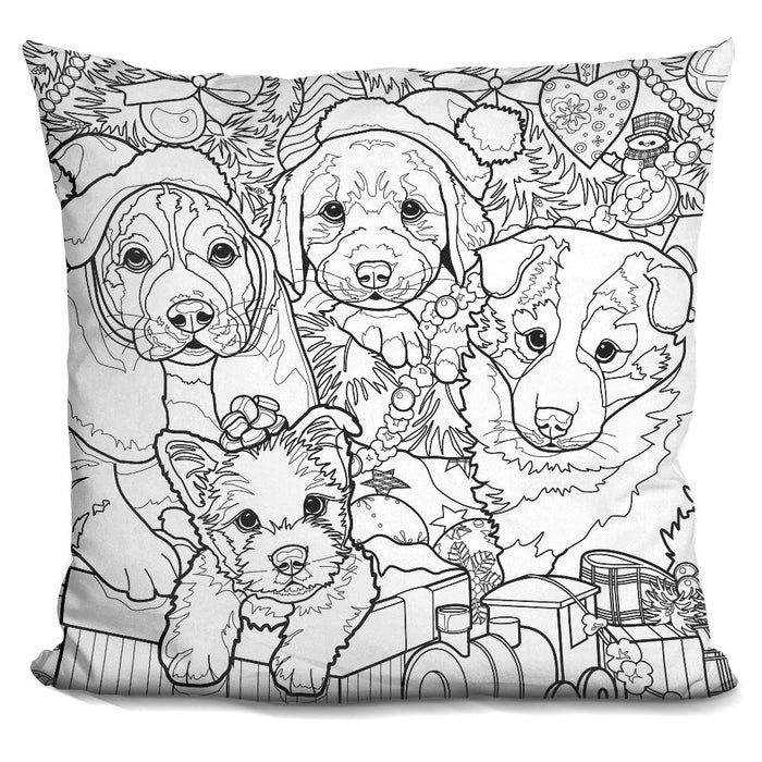 Christmas Cuties 12 Pillow