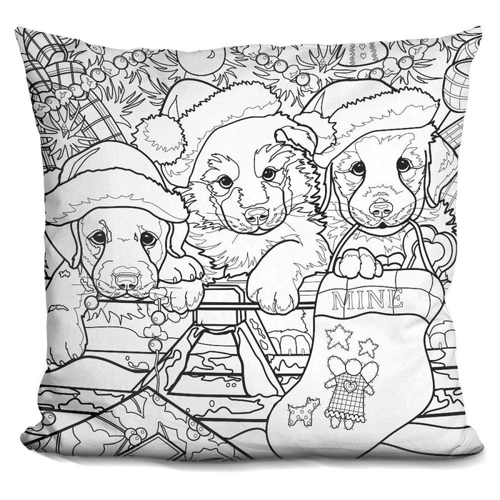 Christmas Cuties 14 Pillow
