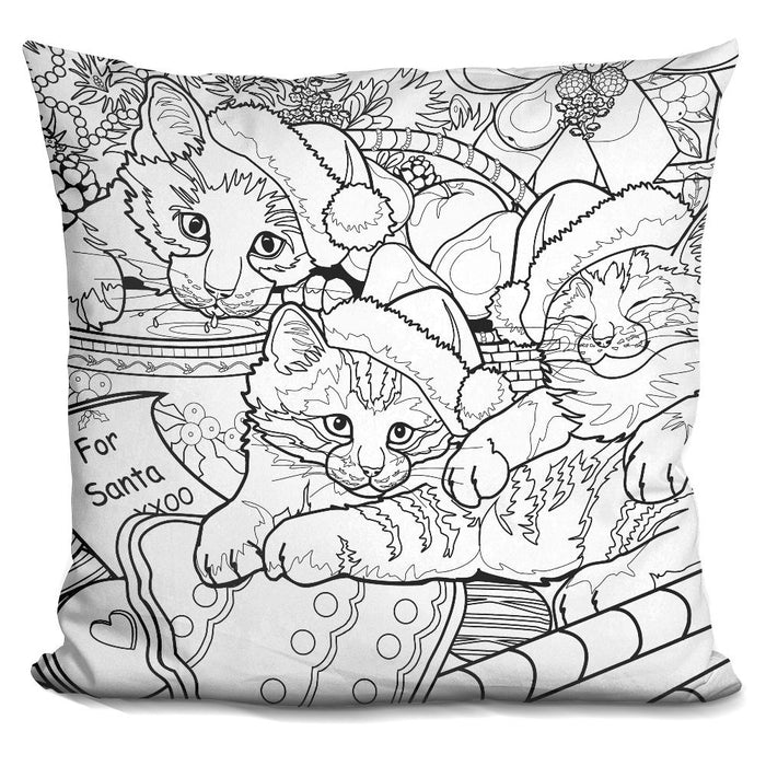 Christmas Cuties 16 Pillow