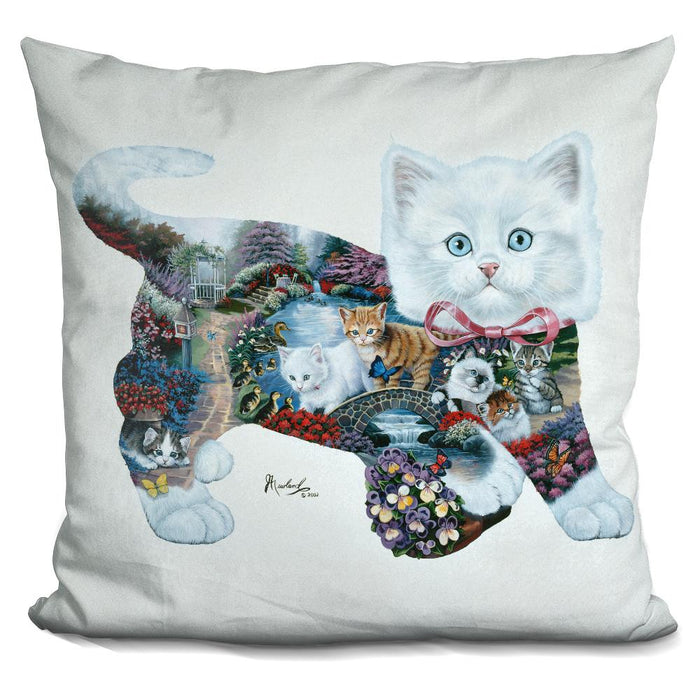 Kitten Tales Pillow