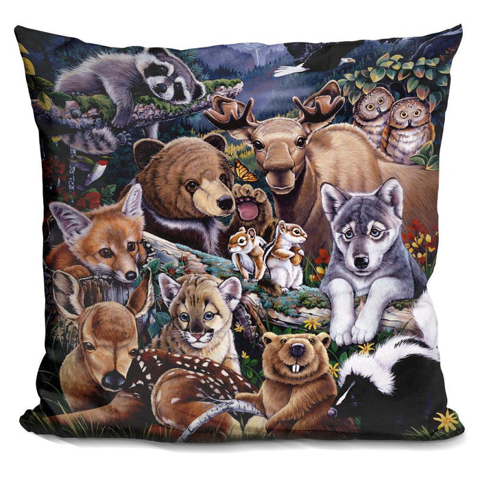 Forest Friends Pillow