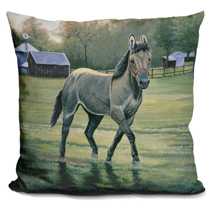 In The Pasture Pillow