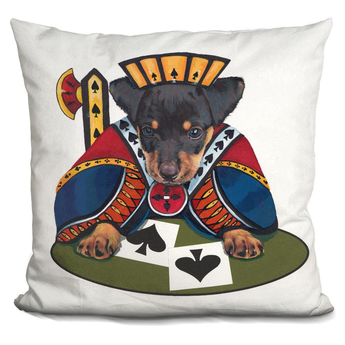 Jack Of Spades Pillow