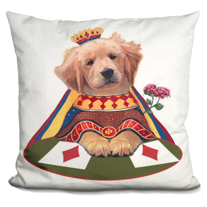 Queen Of Diamonds Pillow