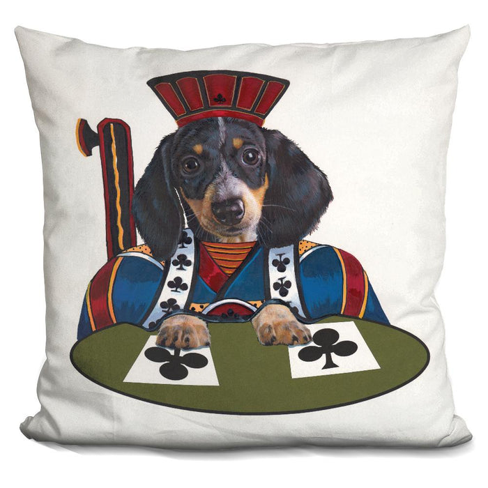 Jack Of Clubs Pillow