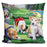 Golfing Puppies Pillow