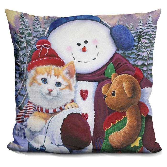 Winter Wonder Pals Pillow