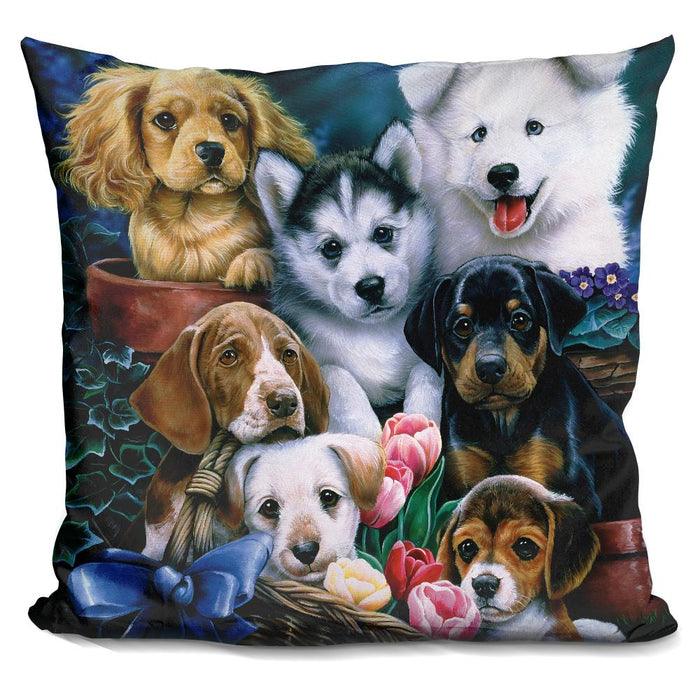 Puppies Pillow