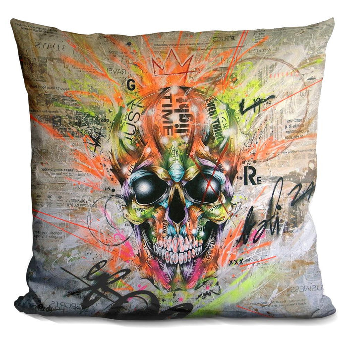 Globalized Folklore Pillow