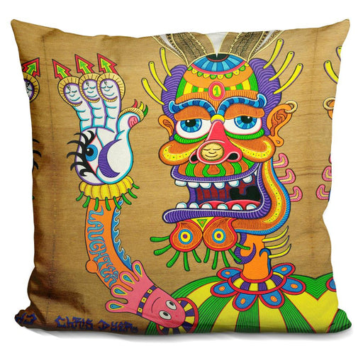 The Clown Is A Wiseman In Disguise Pillow
