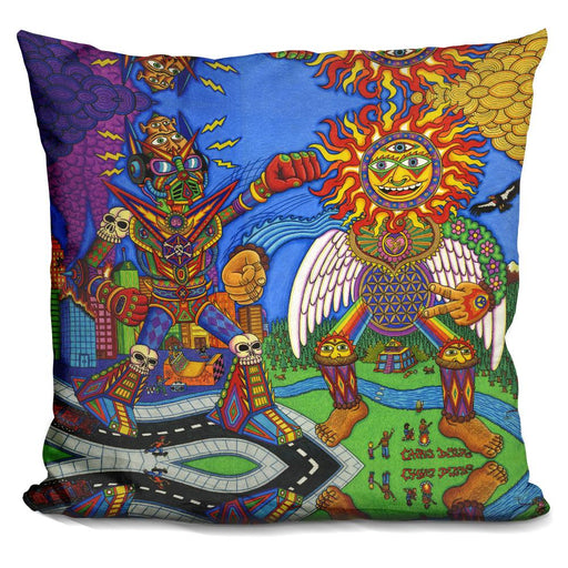 The Battle Of Mind N Soul Pillow