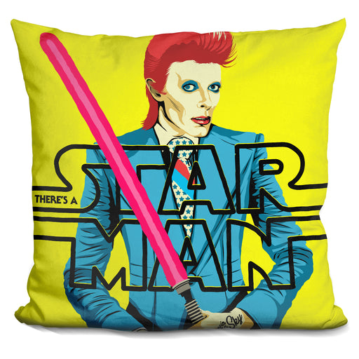 Theres A Starman Pillow