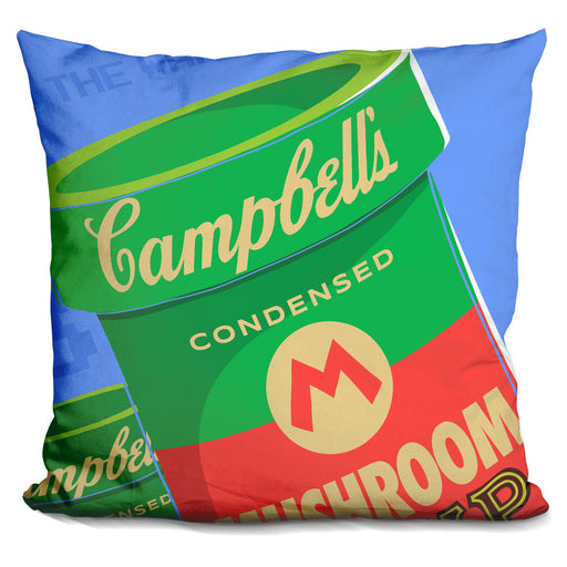 Welcome To The Warhol Zone Pillow