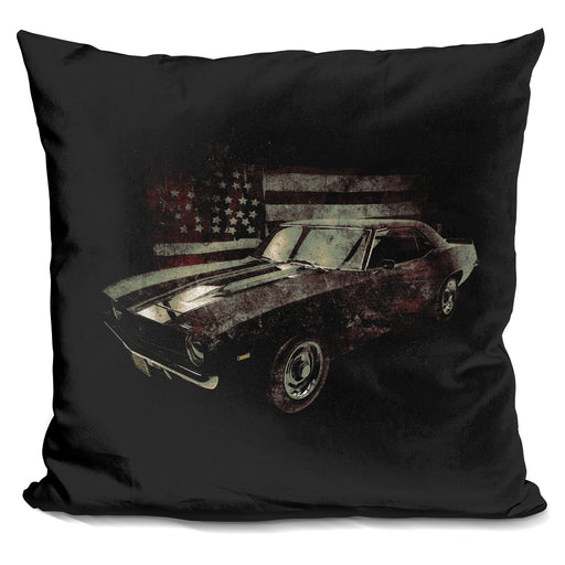 American Muscle Car Pillow
