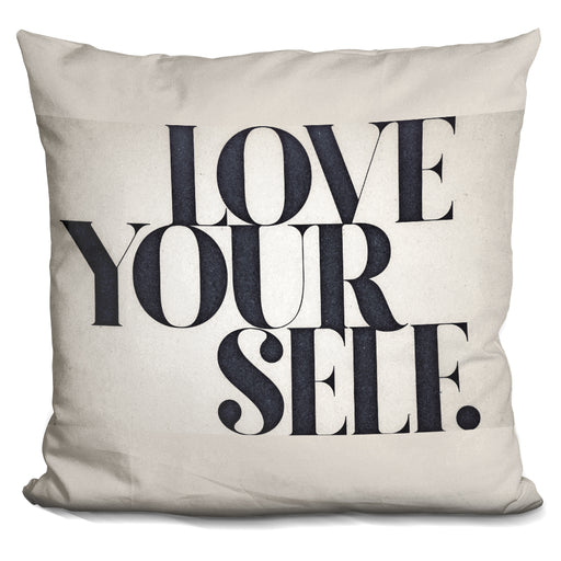 Love Yourself Pillow