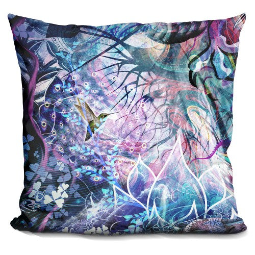 Dreams Of Unity Hummingbird Pillow