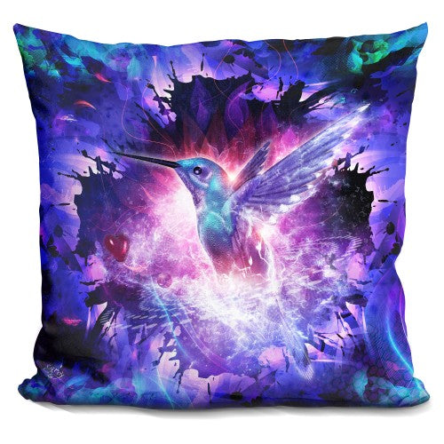 Hummingbird Love Pillow