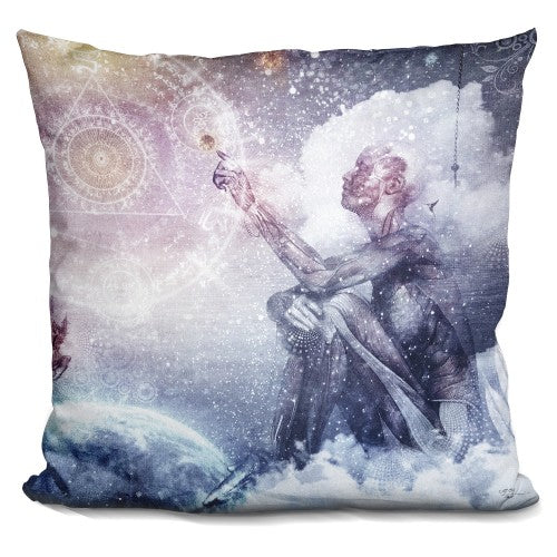 Awake In A Silver Land I Pillow