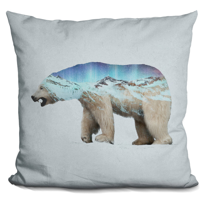 Arctic Polar Bear Pillow