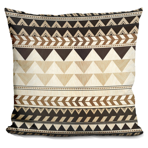 Wood Work Pattern Pillow